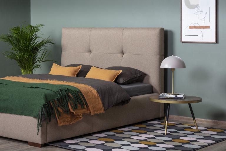 Łóżko tapicerowane Lily marki Comforteo