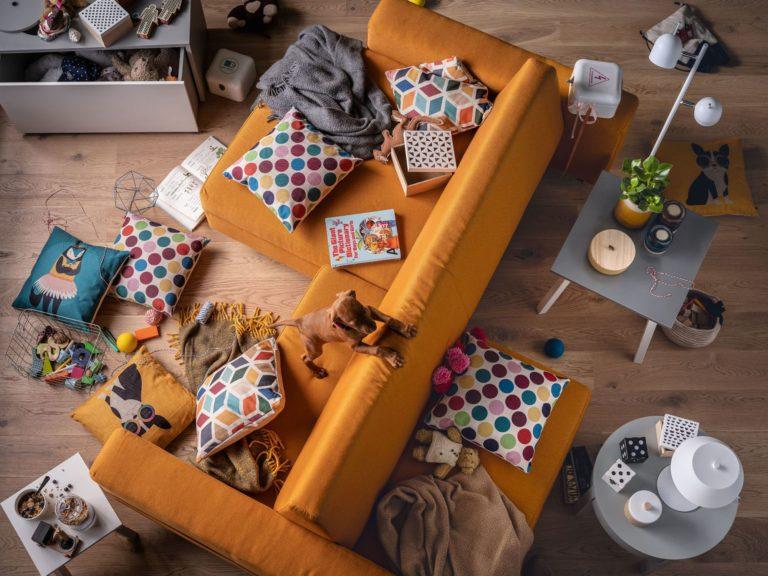 Nowy salon każdego dnia - z sofą Slide od VOX