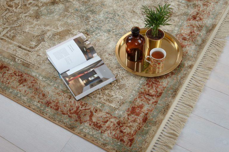 Dywany postarzane – pomysł na wnętrze w stylu vintage