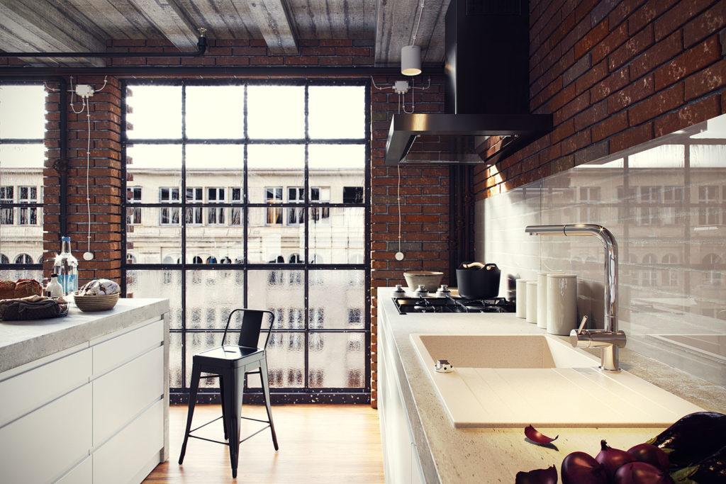 I love loft. Proste sposoby na wykreowanie industrialnego klimatu w domu