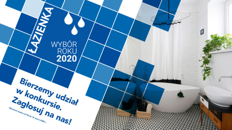Łazienka – Wybór Roku 2020 z produktami SANPLAST SA