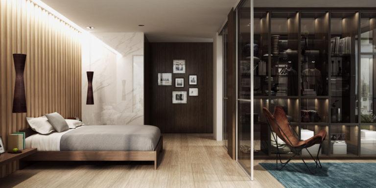 Sypialnia okiem architektów – z garderobą czy szafą na wymiar?